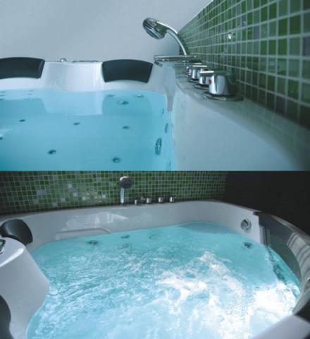 Golden Frog Гидромассажная ванна угловая GF-004