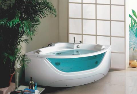 Golden Frog Гидромассажная ванна угловая GF-005