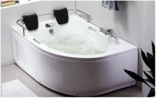 Golden Frog Гидромассажная ванна угловая GF-822_0
