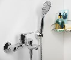 Смеситель WasserKRAFT Lippe 4501 ванны с коротким изливом_1