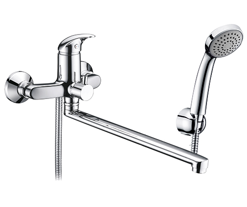 WasserKRAFT Isen 2602L Смеситель для ванны с длинным изливом