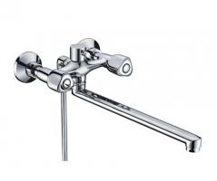 Смеситель WasserKRAFT Amper 2902L ванны с длинным изливом_0