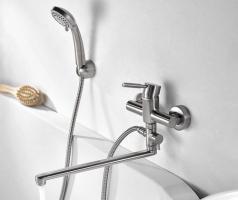 WasserKRAFT Wern 4202L Смеситель для ванны с длинным изливом_1