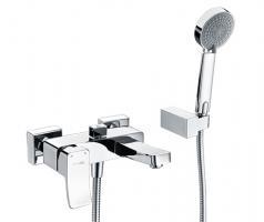Смеситель WasserKRAFT Aller 1061 ванны с коротким изливом_0