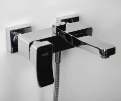 Смеситель WasserKRAFT Aller 1061 ванны с коротким изливом_1