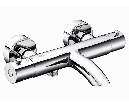 WasserKRAFT Термостатический смеситель Berkel 4811 Thermo для ванны с коротким изливом, хром