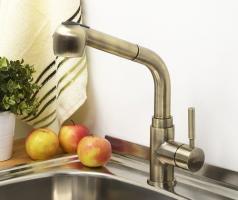 WasserKRAFT A8237 Смеситель для кухни с выдвижной лейкой_1