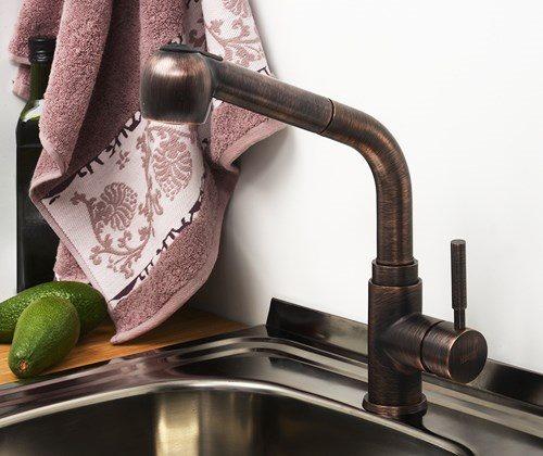 WasserKRAFT A8247 Смеситель для кухни с выдвижной лейкой