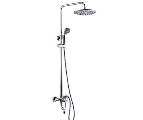 Душевой комплект WasserKRAFT со смесителем для ванны 100/135х59 см