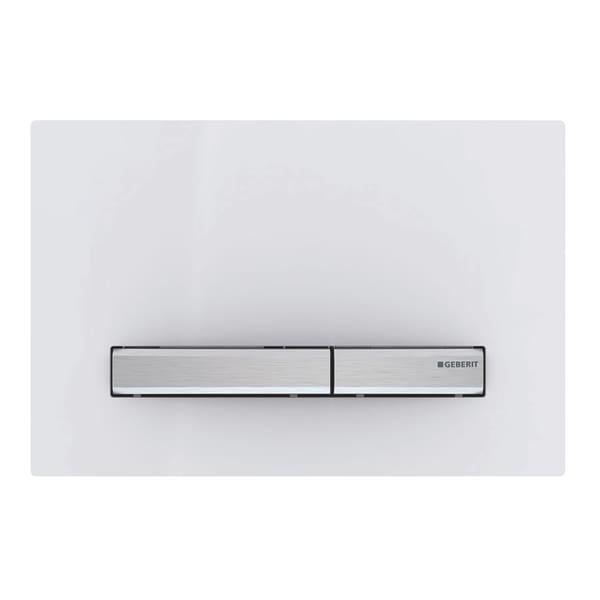 Смывная клавиша Geberit Geberit Sigma 50, для двойного смыва, цвет металлический хромированный