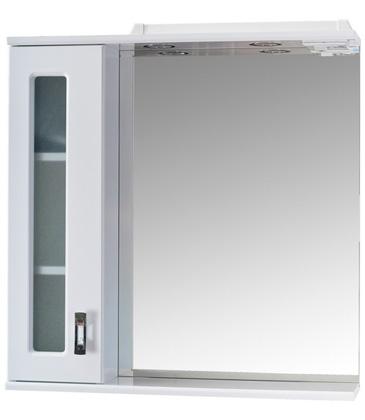Шкаф-зеркало Onika КРИСТАЛЛ 67.02 правый/левый 670х160х715