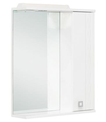 Шкаф-зеркало Onika ЛИГА 52.01 правый 512х160х712