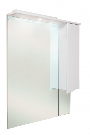 Шкаф-зеркало Onika МОНИКА 75.01 правый/левый 750х170х1056