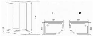 Timo eco душевая кабина TE-0702 R_5