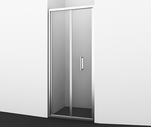 Душевая дверь WasserKRAFT Weser 78F04 900*2000