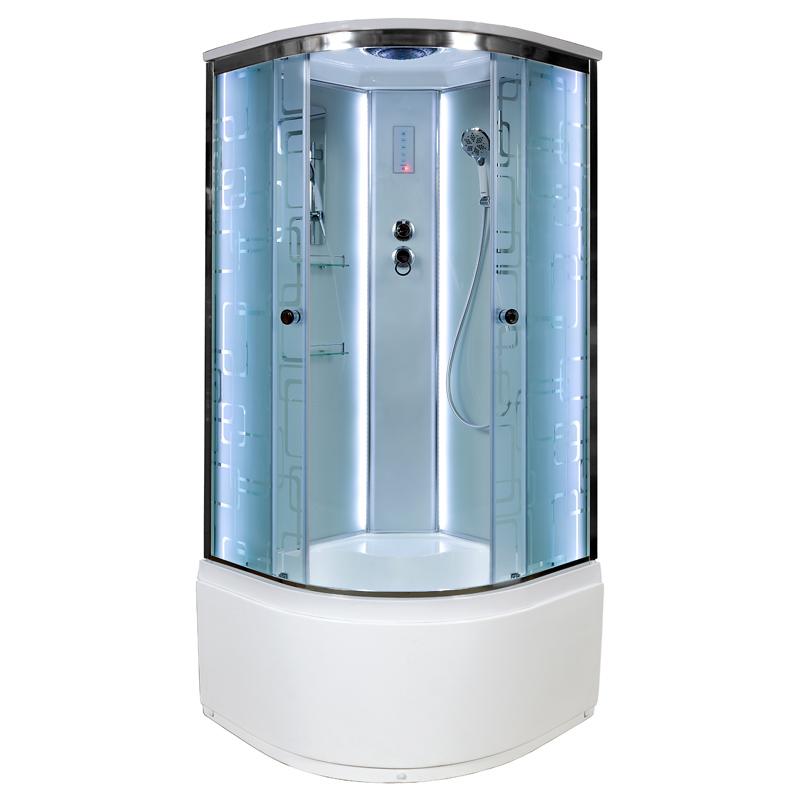 Душевая кабина Deto ЕМ4510 LED 1000*1000*2200