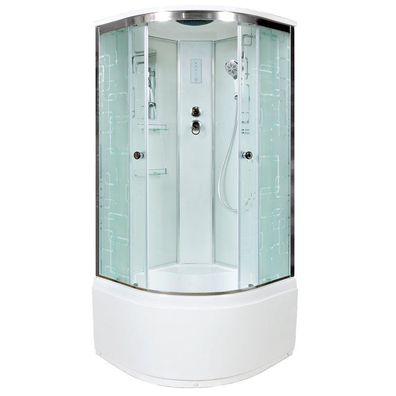 Душевая кабина Deto ЕМ4510 с электрикой (эл.) 1000*1000*2200