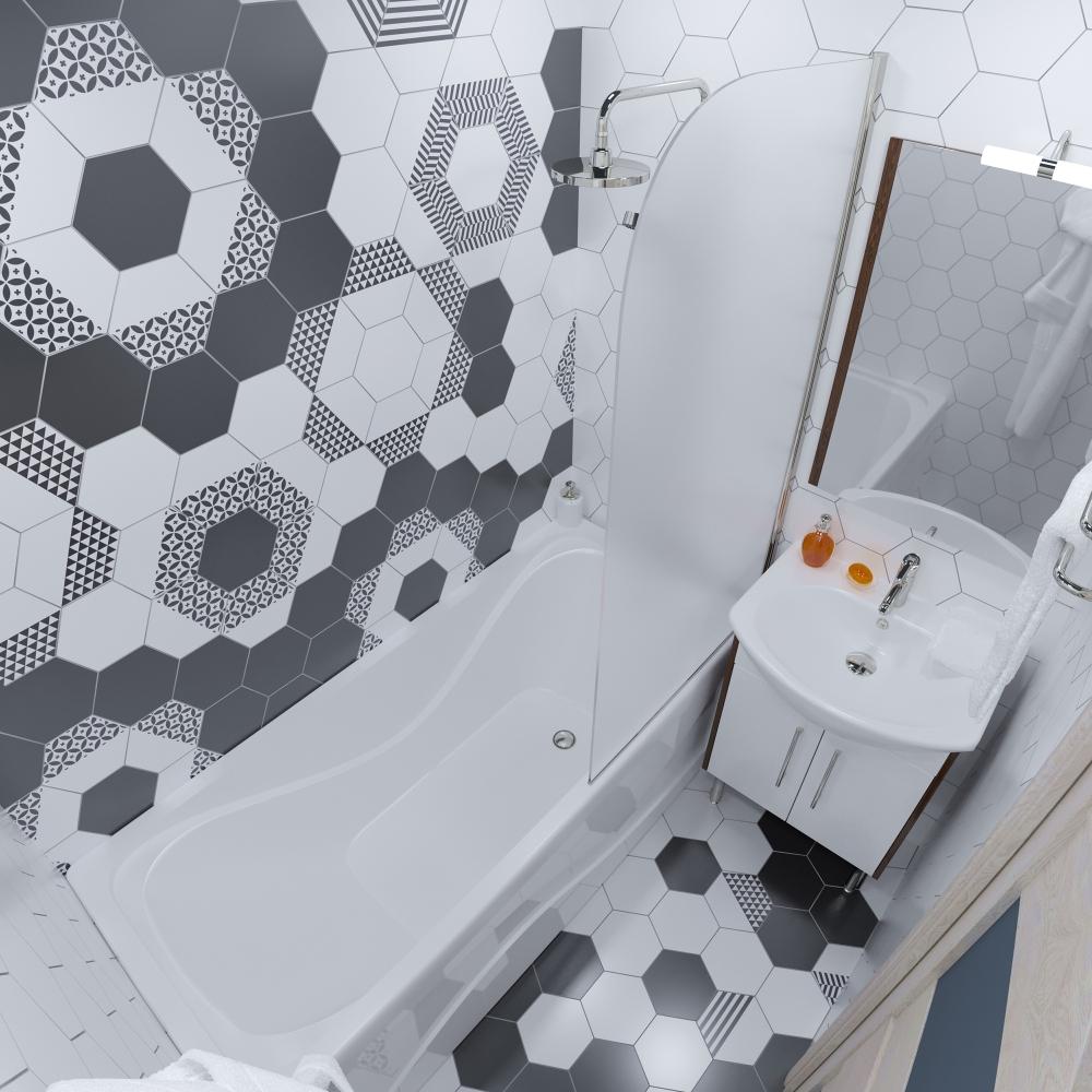 Акриловая ванна Triton стандарт 150 1500x750*560мм