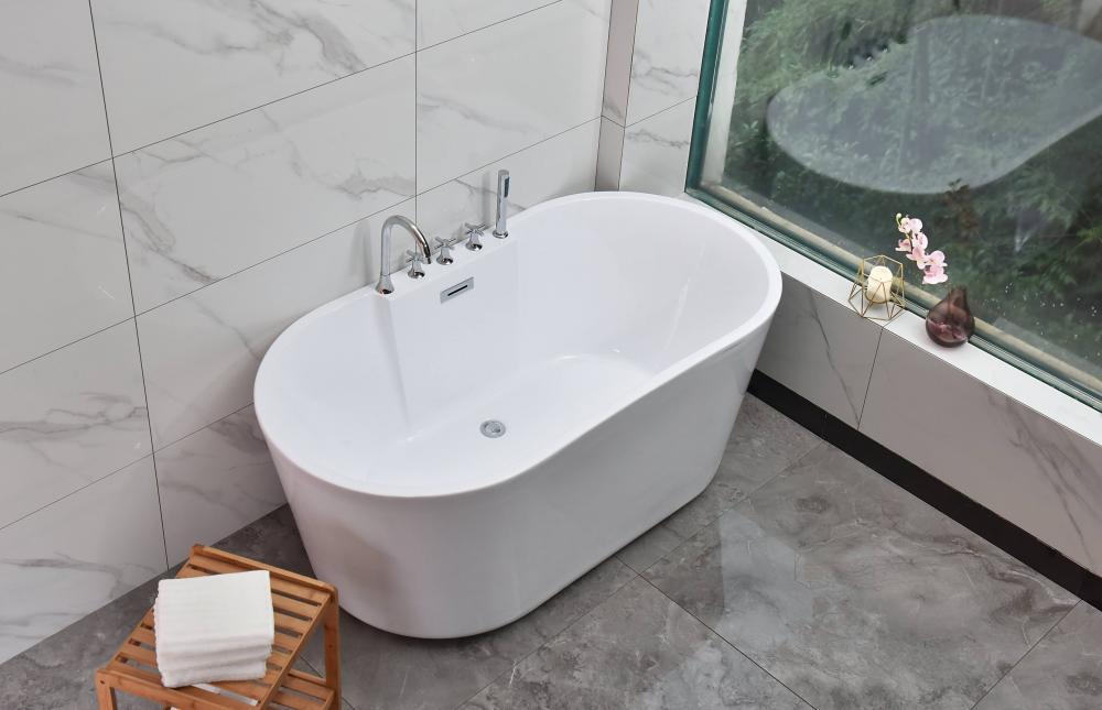Акриловая ванна отдельностоящая RV-8538 (160*80*60)