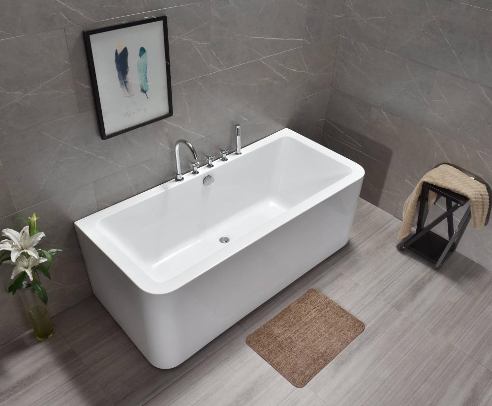 Акриловая ванна отдельностоящая RV-8558 (170*75*60)