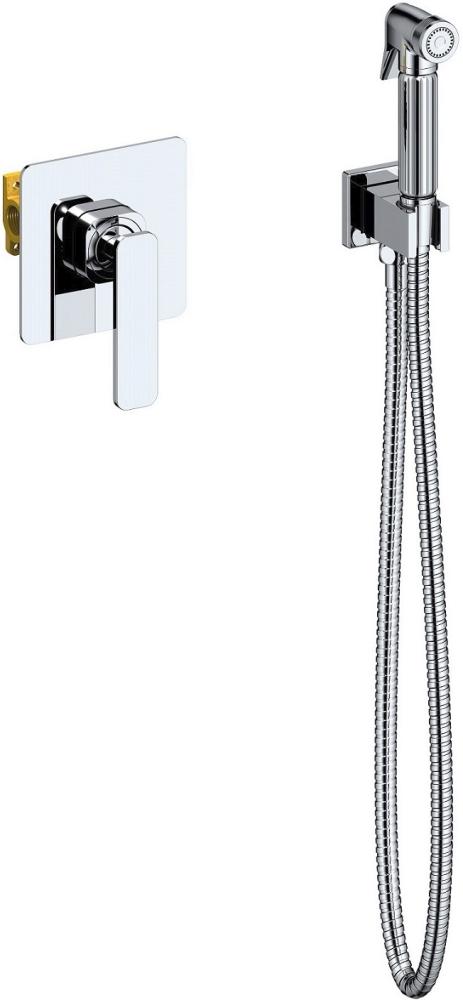 Смеситель встроенный с гигиеническим душем Timo Torne 4389/00SM хром