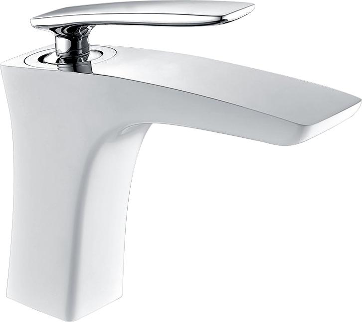 Смеситель для раковины Timo Helmi 4061/00-16F chrome-white глянцевый