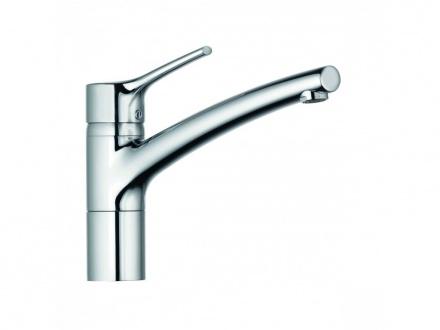 KLUDI TRENDO Однорычажный смеситель для кухни DN 15, нержавеющая сталь, для безнапорных водонагревателей, арт. 335759675