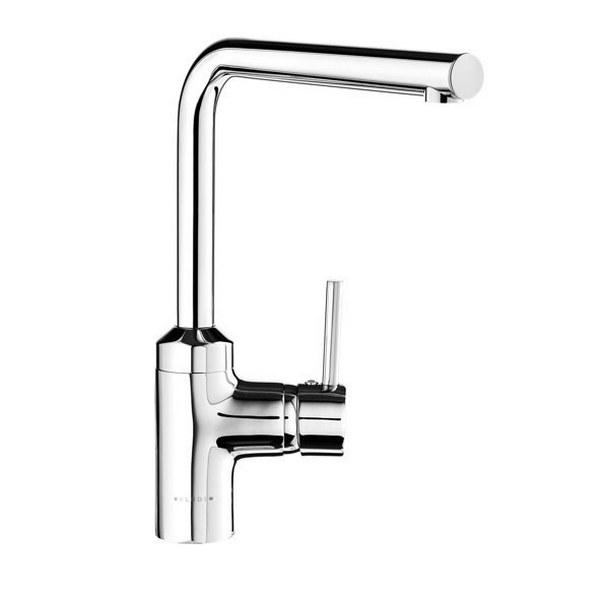 KLUDI L-INE однорычажный смеситель для кухни, для безнапорных водонагревателей, арт. 428190577