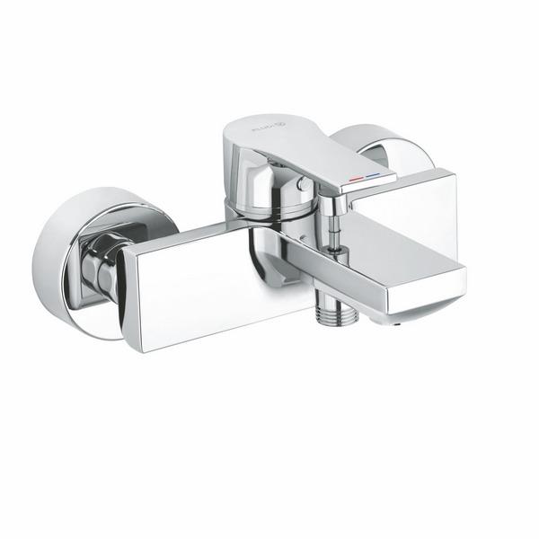 KLUDI ZENTA SL Однорычажный смеситель для ванны и душа, арт. 486700565