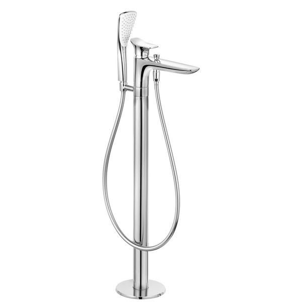 KLUDI AMBIENTA Однорычажный смеситель для ванны и душа DN 15, для отдельно стоящих ванн, арт. 535900575