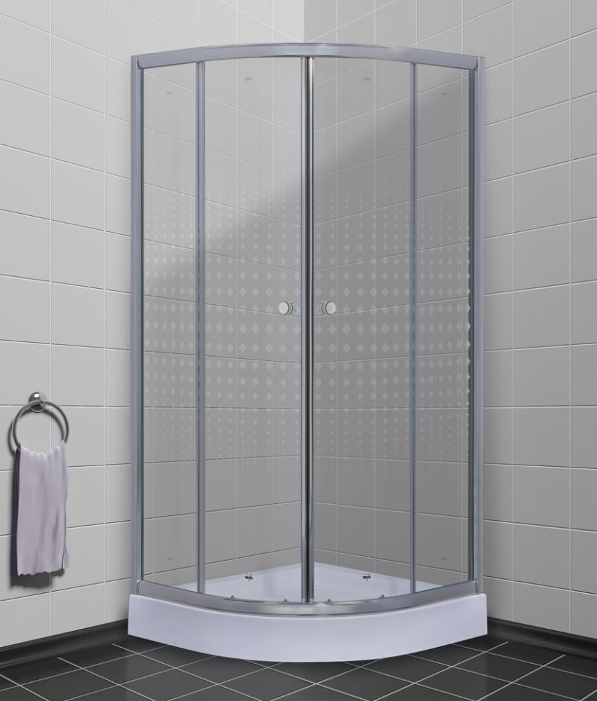 Timo душевой угол Fabric Glass TL-8001