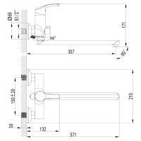 Смеситель Lemark Plus Strike LM1151C универсальный_1