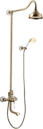 Смеситель Lemark Villa LM4862B для ванны и душа