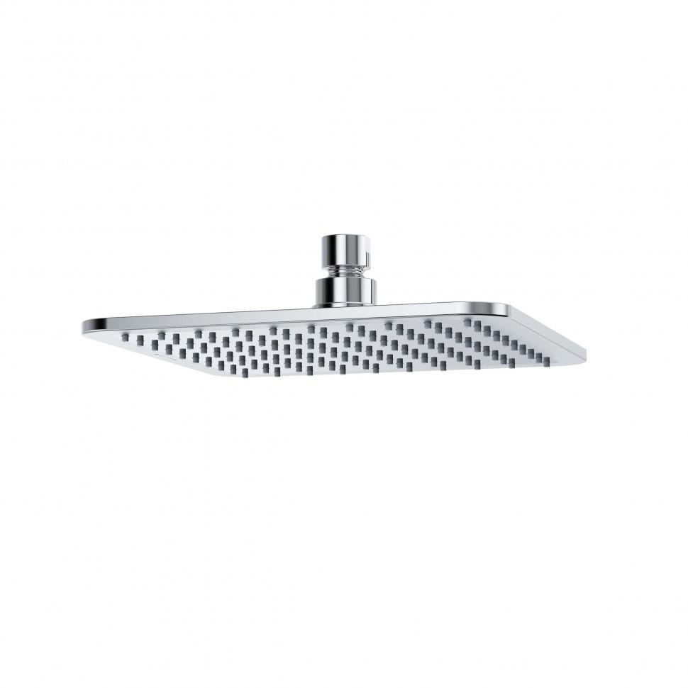 Верхний душ KLUDI A-QA 6452005-00, квадратный, плоский, 200 мм, хром