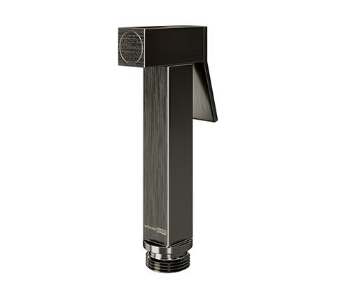 Гигиеническая лейка WasserKRAFT (A215) 9063172 с фиксатором, серый