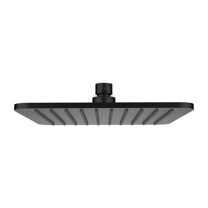 Верхний душ OMNIRES WG220/OBL 20х20 см (черный)