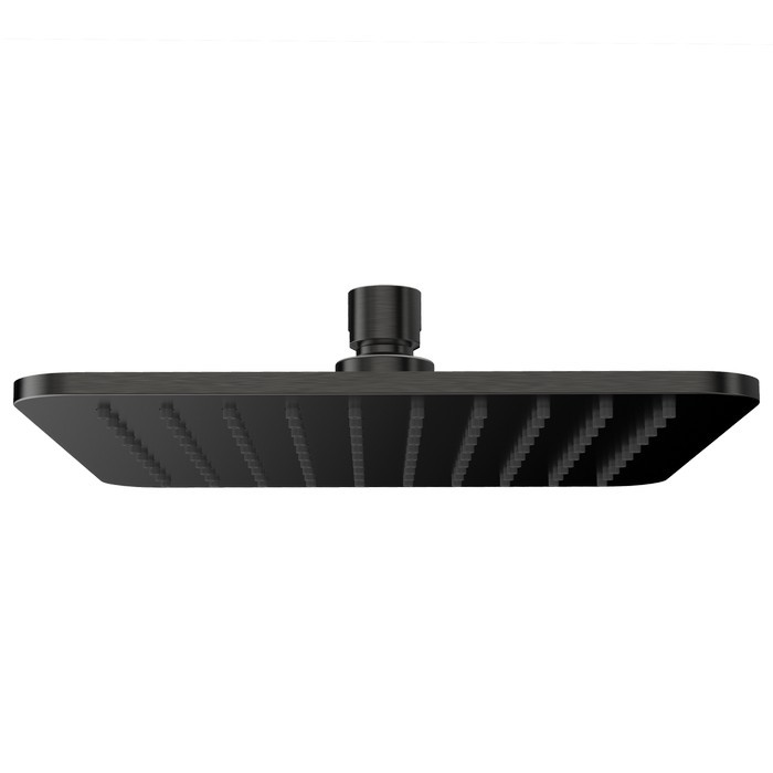 Верхний душ OMNIRES WG220/OGR 20х20 см (графит)
