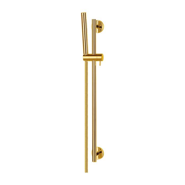 Душевой гарнитур на штанге OMNIRES MICROPHONE-SGL (золото)