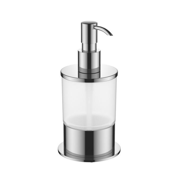 Дозатор жидкого мыла настольный EXCELLENT KOBO (хром)