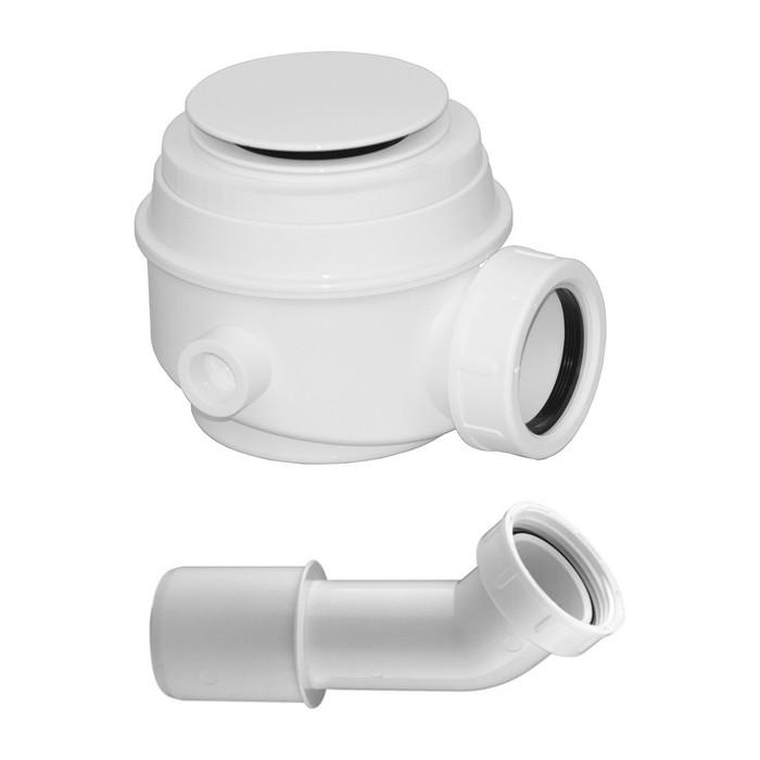 Сифон для ванны и душевого поддона OMNIRES (белый)