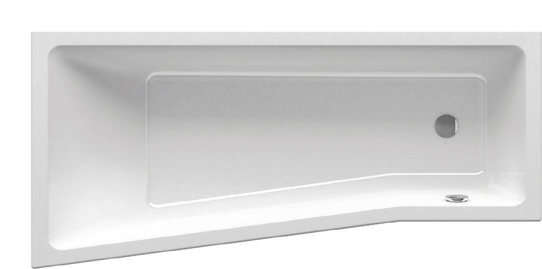 Ванна акриловая прямоугольная Ravak BE HAPPY II 170х75 правая белая C951000000