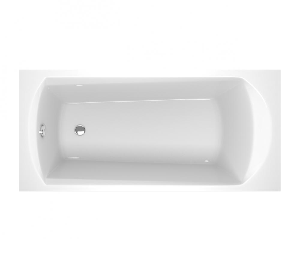 Ванна акриловая прямоугольная Ravak Domino 1600х70 C621000000