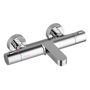 Смеситель настенный термостатический для ванны без гарнитуры Ravak Termo 300 TE 023.00/150