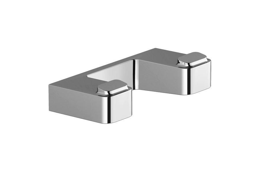 Двойной крючок для полотенец Ravak 10° X07P352 Хром