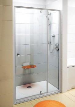 Душевая дверь поворотного типа Ravak PDOP2-110 профиль сатин, прозрачное стекло 03GD0U00Z1