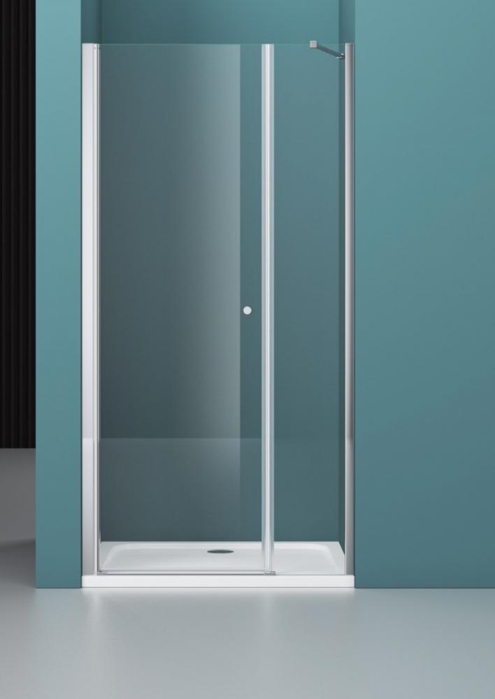 Душевая дверь ETNA-B-11-80+90-C-Cr