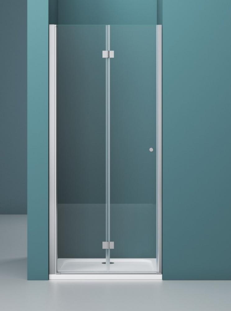 Душевая дверь ALBANO-BS-13-80+90-C-Cr