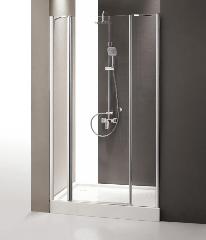 Душевая дверь CEZARES TRIUMPH-D-B-13-80+60/40-C-Cr-L