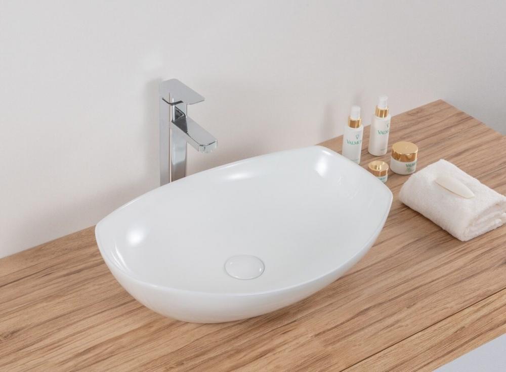 Накладная белая раковина для ванной Gid N9137