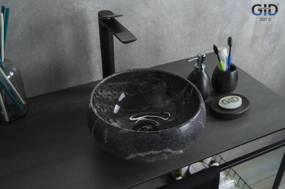 Накладная раковина для ванной под камень Gid Mnc480